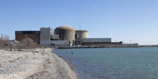 'A nuclear power station located in Pickering,30 kilometers of Toronto,Ontario,