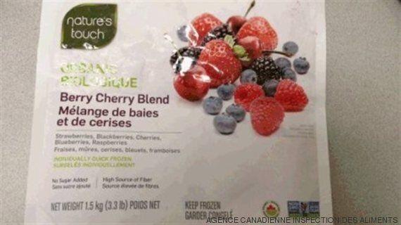 Hépatite A : rappel d'un mélange de fruits Nature's Touch chez