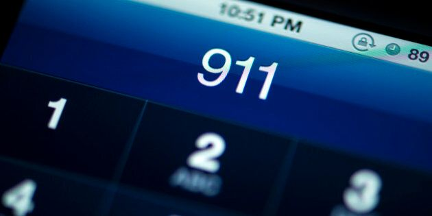 Calling 911 from smart