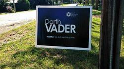 Darth Vader s'invite dans la campagne