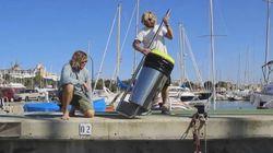 Une poubelle écologique pour nettoyer les océans