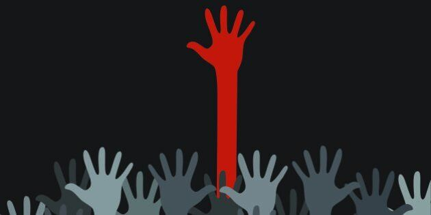 Black has managed to rise out of the hands of a very hands on red