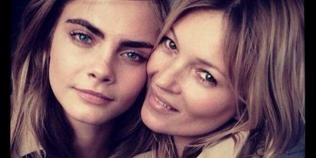Cara Delevingne et Kate Moss: de nouvelles meilleures amies?