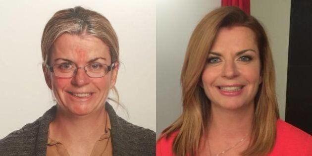 Une transformation maquillage de rajeunissement
