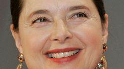 Isabella Rosselini a reçu un doctorat honoris causa à