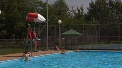 La canicule force la réouverture de piscines à