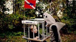 Des costumes incroyables pour les enfants en fauteuil