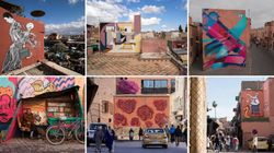 L'art de rue à l'honneur à Marrakech