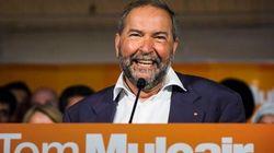 Mulcair : De pourfendeur à défenseur du modèle québécois de