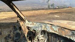En PHOTOS: une trentaine de maisons détruites par le feu de Rock