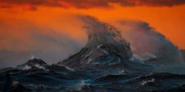 Les photos du lac Érié de Dave Sandford transforment les vagues en des «Montagnes