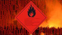 La liste des produits chimiques à l'origine des explosions