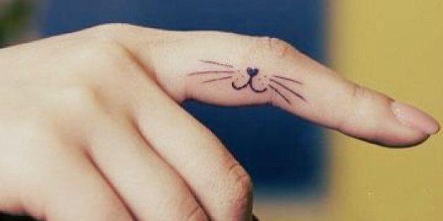 15 jolis tatouages de chat repérés sur Pinterest pour