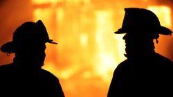 Des images d'un incendie publiées sur Facebook avant le premier appel