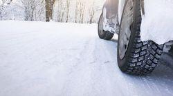 Pneus d'hiver obligatoires à partir de mardi au Québec