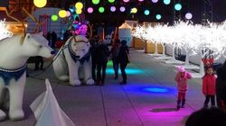Le Grand Marché de Noël à la Place des Arts