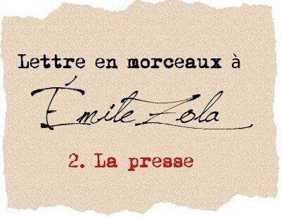 Lettre à Émile
