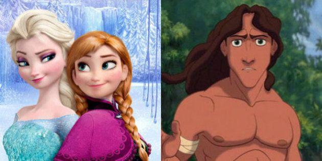 Une théorie Disney se confirme: il y a bien un lien entre la Reine des Neiges et Tarzan