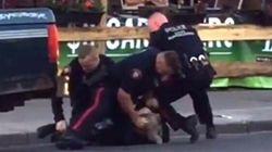 La vidéo d'une arrestation musclée à Calgary devient