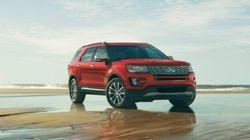 Essai routier du Ford Explorer Platinum 2016: grand luxe