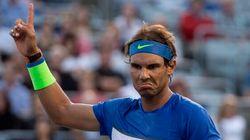 Rafael Nadal accède aux quarts de