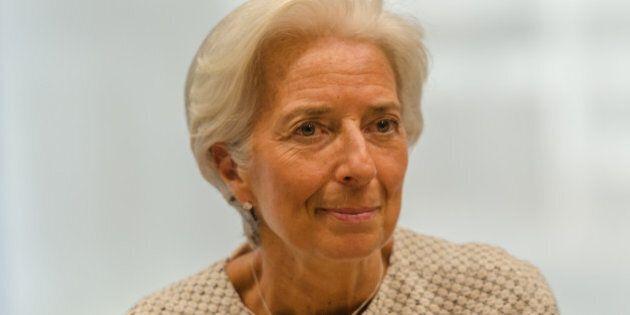 BRUSSELS, BELGIUM - 2015/07/11: Managing Director of the International Monetary Fund Christine Lagarde...