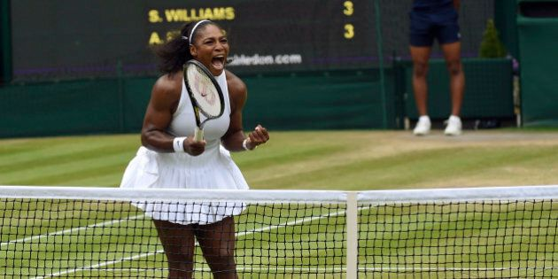 Britain Tennis - Wimbledon - All England Lawn Tennis & Croquet Club, Wimbledon, England - 9/7/16 USA's...