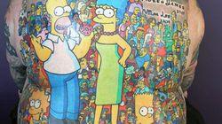 203 tatouages d'une même série télé, un record