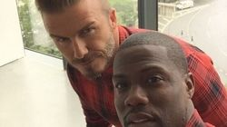 David Beckham et Kevin Hart: vedettes de la nouvelle campagne