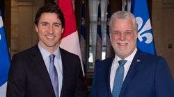 Première visite de Justin Trudeau à Québec