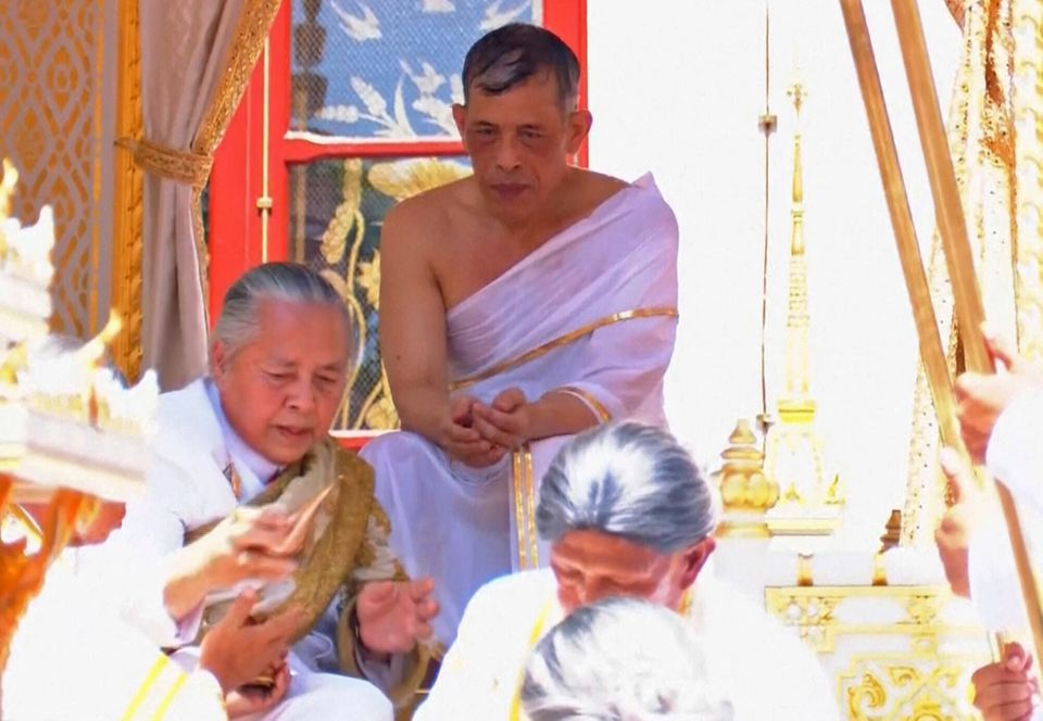 Ταϊλάνδη: Ο Μάχα Βατζιραλονγκόρν στέφθηκε επισήμως βασιλιάς της