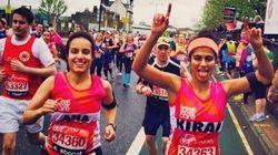 Elle a couru un marathon sans tampon pour briser le tabou des