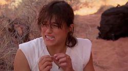 Michelle Rodriguez forcée de boire sa propre urine pour une émission de survie