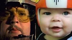 Des casques Star Wars pour son fils opéré d'une craniosténose