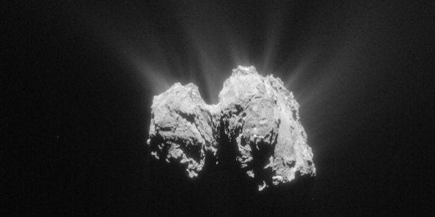La comète Tchouri «bien active» lors de son rendez-vous avec le