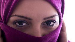 Niqab, grosse barbe et