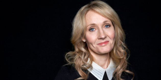 FILE - This Oct. 16, 2012 file photo shows author J.K. Rowling at an appearance at The David H. Koch...
