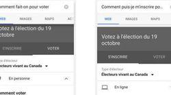 Google donne aux Canadiens des informations faciles d'accès sur les