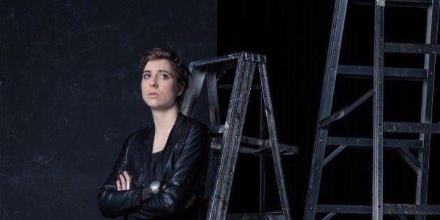 Eve Landry change de registre et joue la fille qui encaisse dans «J'accuse»