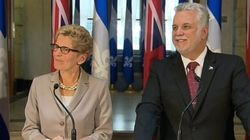 Bourse du carbone: le Québec salue l'adhésion de