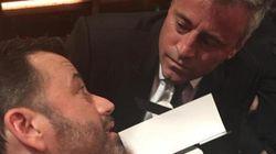 Matt LeBlanc fait un doigt d'honneur à Jimmy Kimmel
