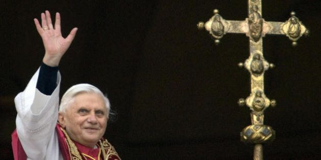 Vatican City, Vatican: TO GO WITH STORY IN FRENCH - 'Benoit XVI, le pape deconcertant' - (FILES) Picture...