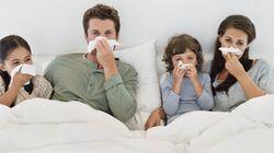 La propagation des microbes, des enfants aux