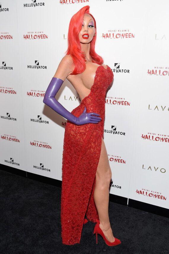 Heidi Klum a encore été la reine du déguisement pour Halloween en 2015