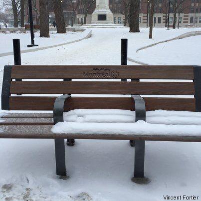 La face cachée des objets urbains - Le banc de parc, bon pour la santé physique et