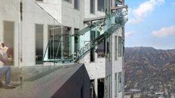 Une attraction terrifiante pour voir Los Angeles du haut des