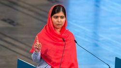 Malala de tout coeur avec les écolières enlevées au