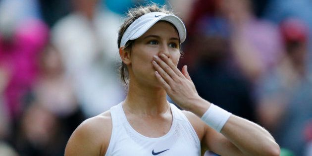 Britain Tennis - Wimbledon - All England Lawn Tennis & Croquet Club, Wimbledon, England - 30/6/16 Canada's...