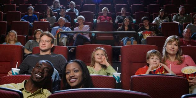 People in Theater Watching