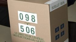 Quatre élections partielles: vote par anticipation en